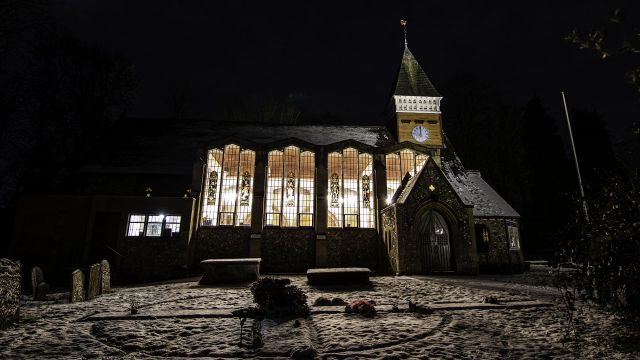 The Church at Night